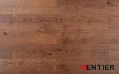 G006-Acacia wood veneer with HDF core--lamiwood flooring with wire brushed treatment